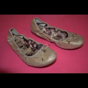 Gold Ballet Flats | Kids' Shoes | Girls